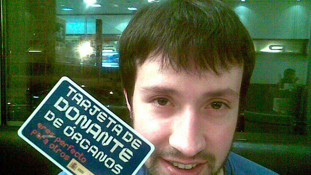 La tarjeta de Daniel Hernández
