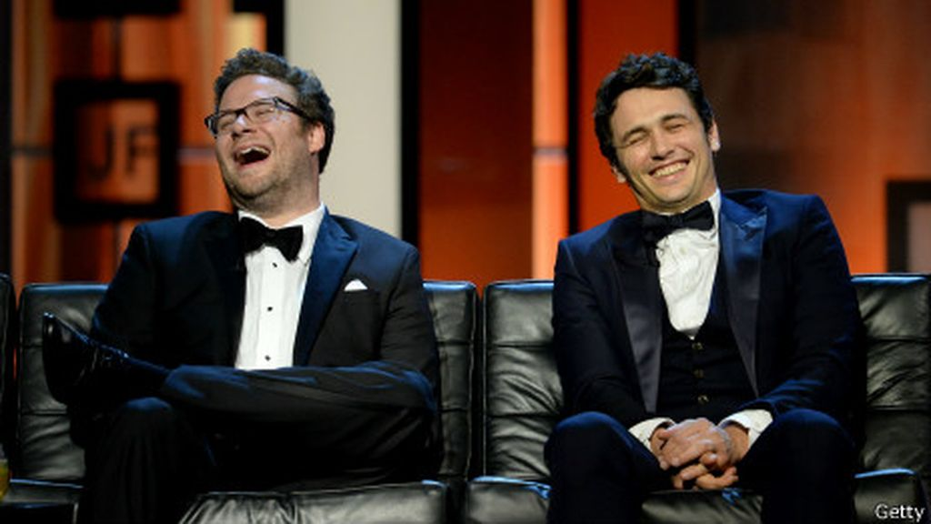 James Franco, The interview, La entrevista