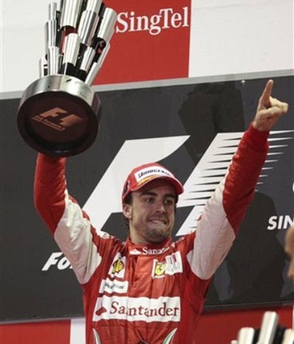 Fernando Alonso ya está segundo en el Mundial a 11 puntos de Mark Webber