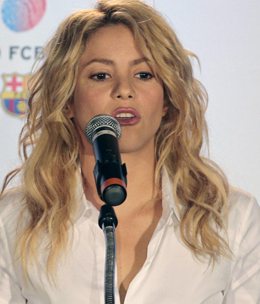Shakira y Piqué, 'empalagando' en Miami por los niños
