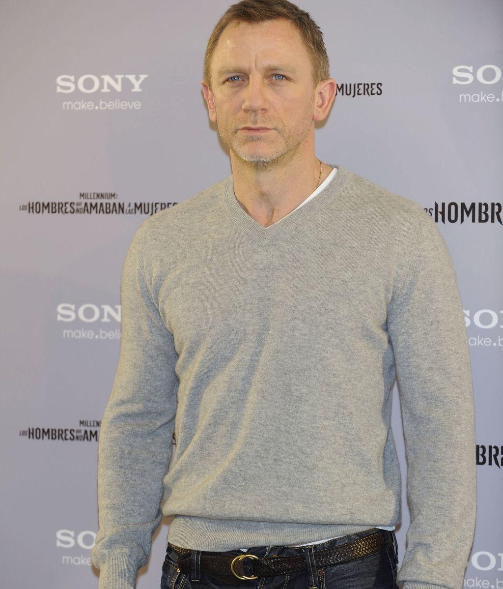 Daniel Craig, noches en los bancos de Londres