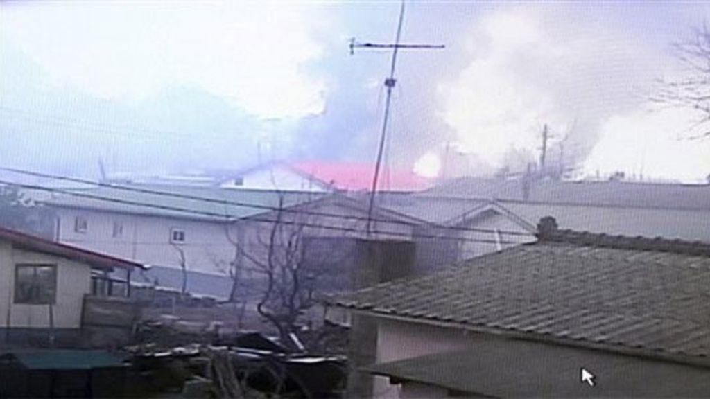 Varias viviendas incendiadas
