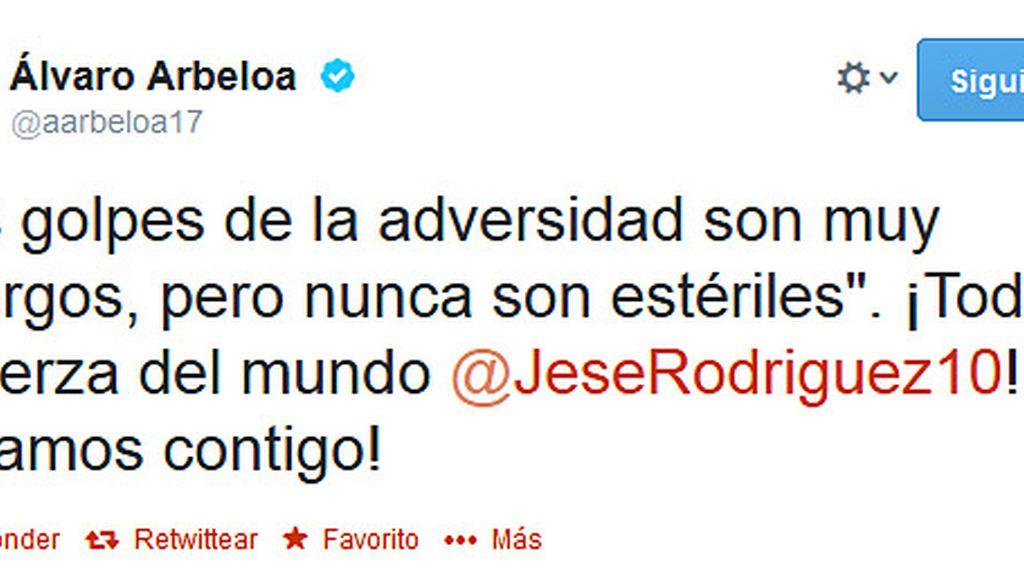 Arbeloa Twitter