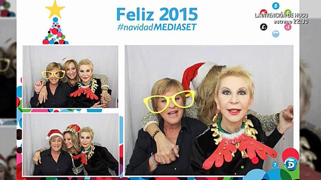 El programa felicita las fiestas con el 'selfiematón'