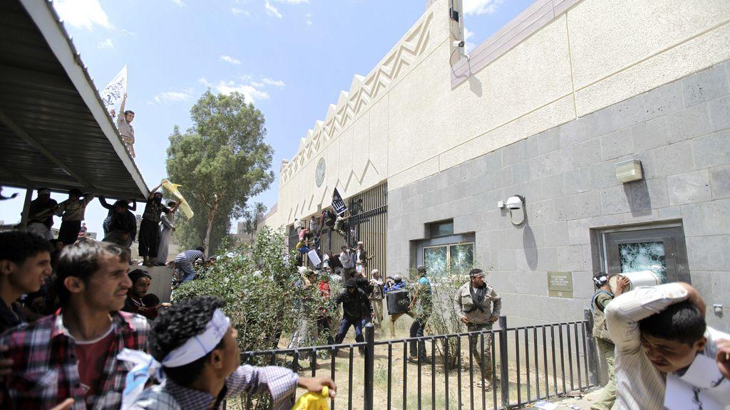 Asalto a la embajada de eeuu en Yemen