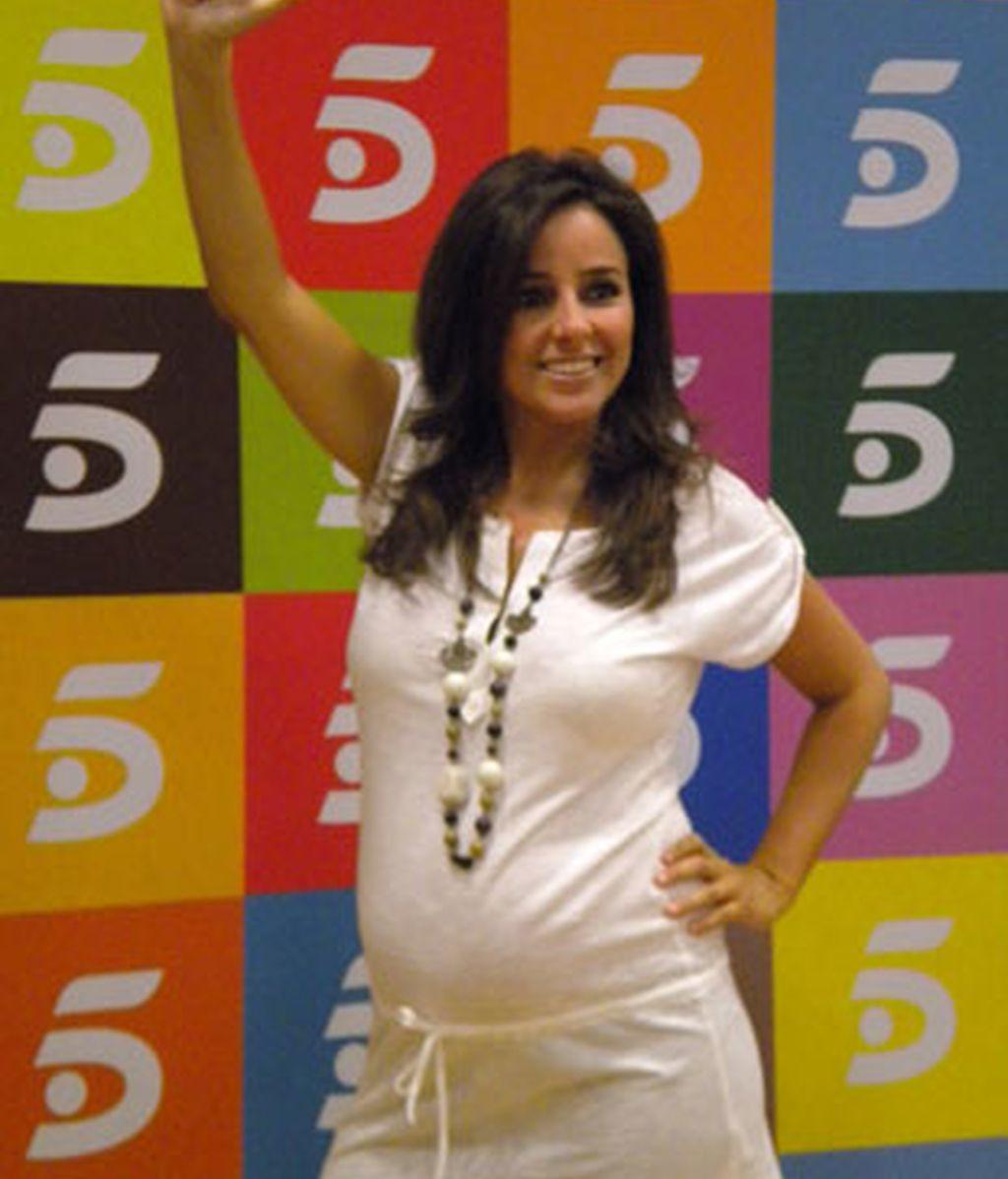 La presentadora de 'Guaypaut', Carmen Alcayde.