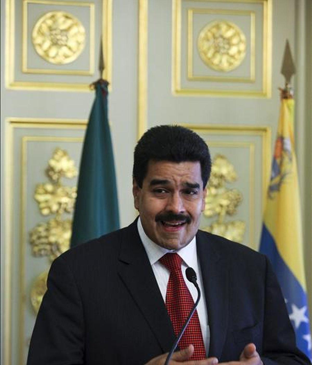 """El canciller venezolano, Nicolás Maduro, agregó la nota, """"dará a conocer a sus homólogos latinocaribeños los avances sobre la organización de la próxima Cumbre de los 33 jefes de Estado y de Gobierno"""". EFE/Archivo"""