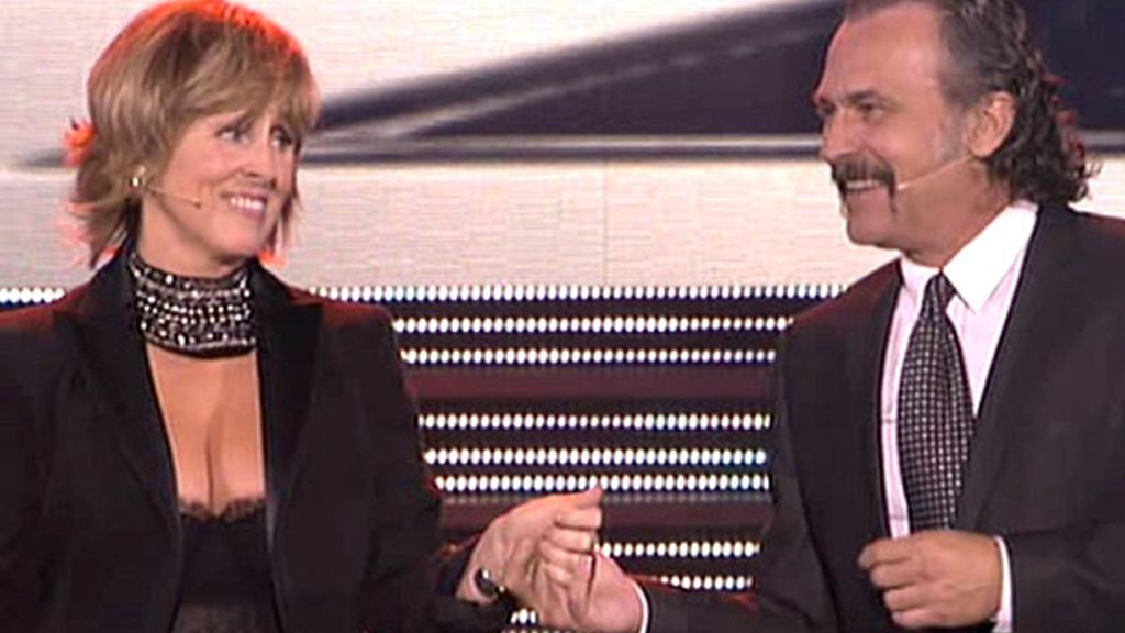 Los presentadores de la Gala 20 Años de Telecinco