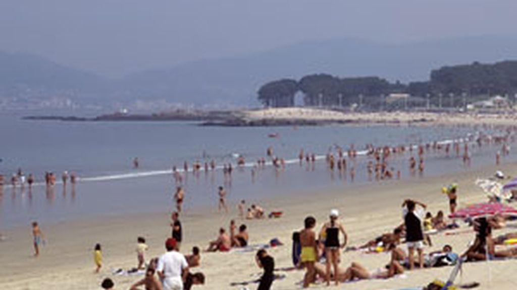 Playa de Samil, Pontevedra. GTRES.