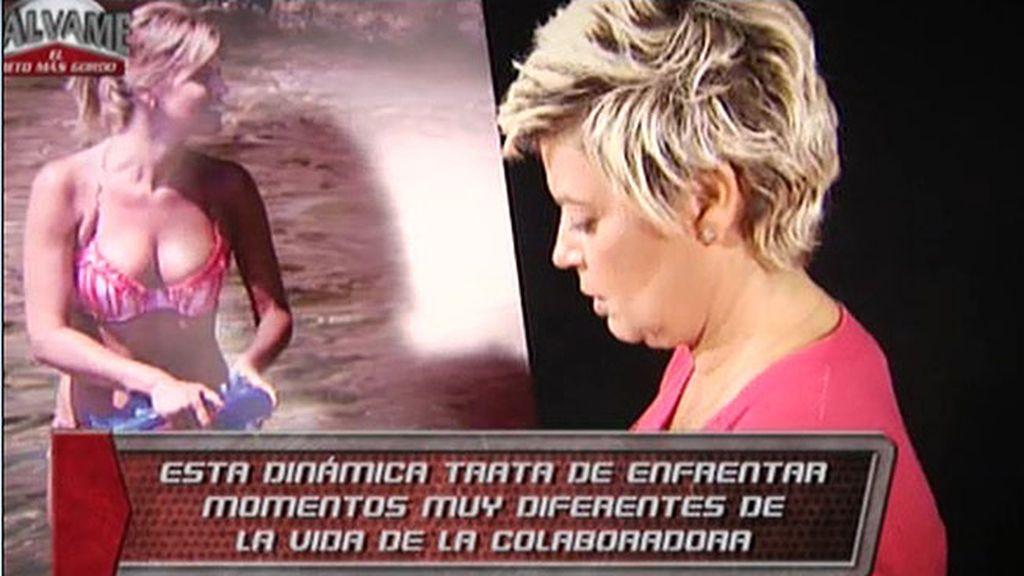 La colaboradora de 'Sálvame', entre lágrimas junto a Cristina Soria