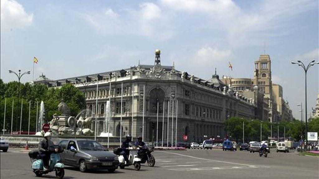 Una imagen del Banco de España. EFE/Archivo