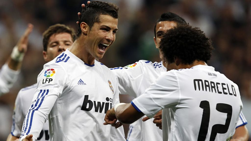 Cristiano marcó de penalty