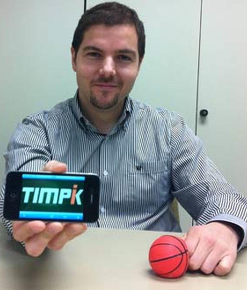 Camilo López de Felipe, creador de Timpik. Foto: Hotwire PR