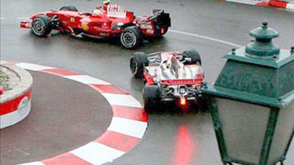 Curva de Loews en el GP de Mónaco. Foto: EFE