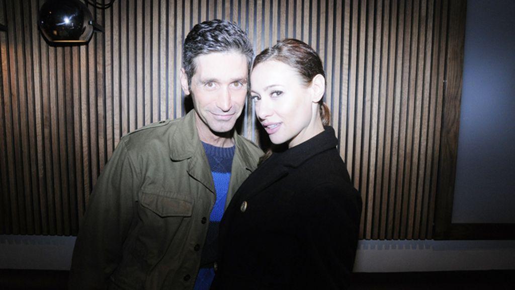 Joan Oliá y Natalia Verbeke