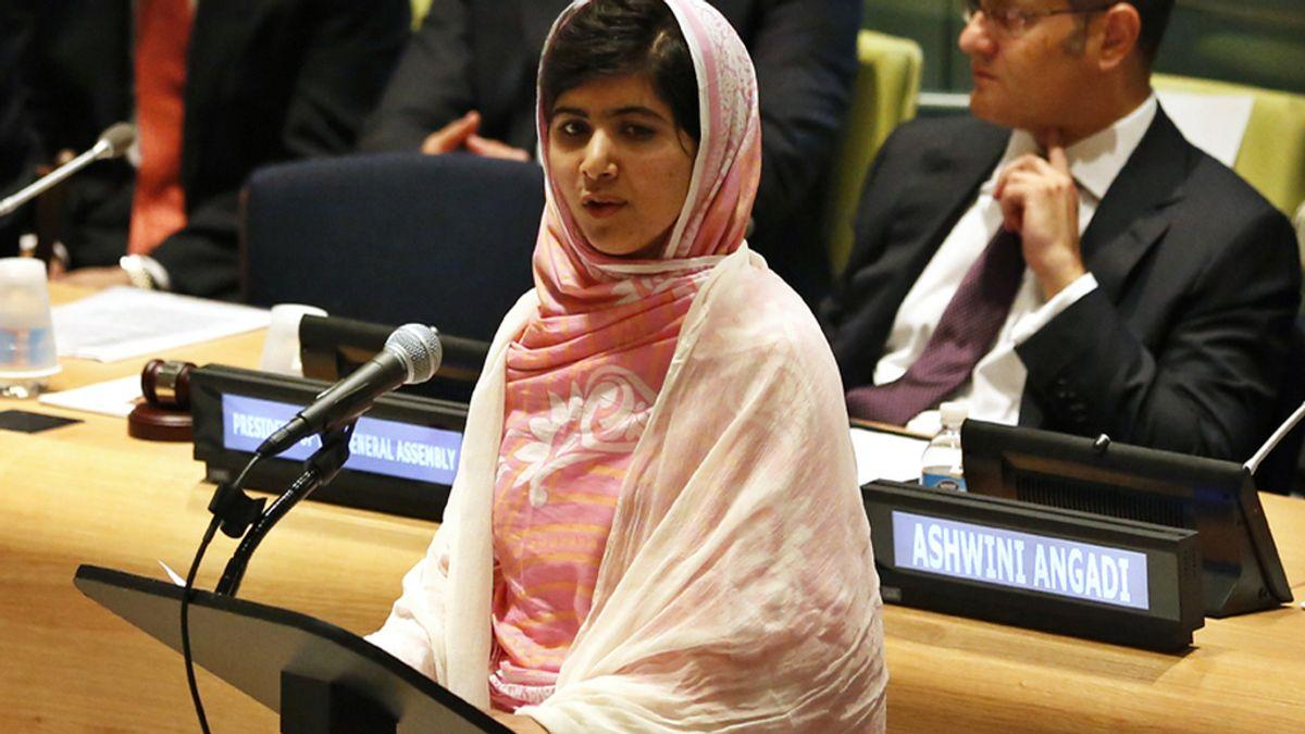 """Malala: """"Un niño, un profesor, un bolígrafo y un libro pueden cambiar el mundo"""""""