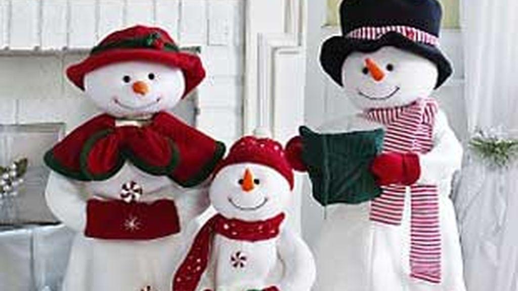 Los concursantes harán muñecos de nieve.