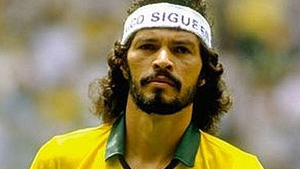 Sócrates, jugador brasileño de fútbol