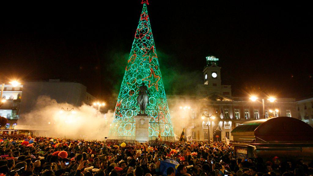 Miles de personas se concentraron en Madrid