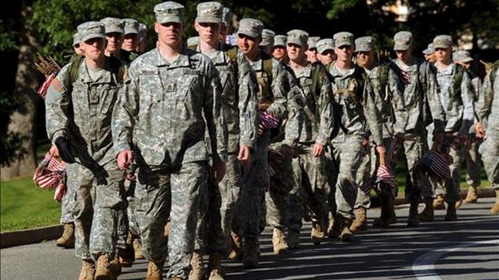 Los Marines son el único cuerpo militar estadounidense que ofrece entrenamiento de artes marciales a todos sus efectivos, actualmente 202.000. EFE/Archivo