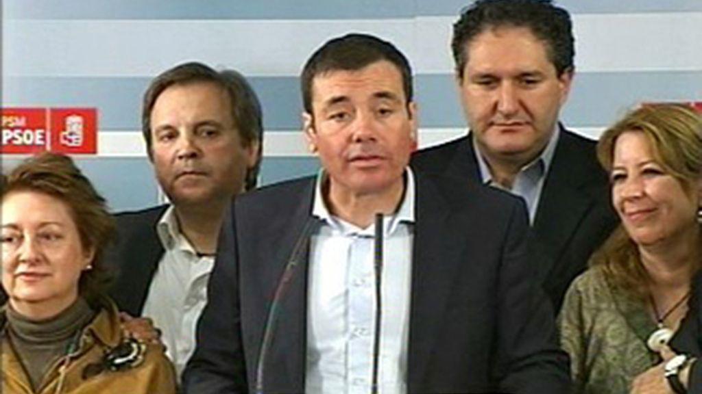Tomás Gómez gana las primarias