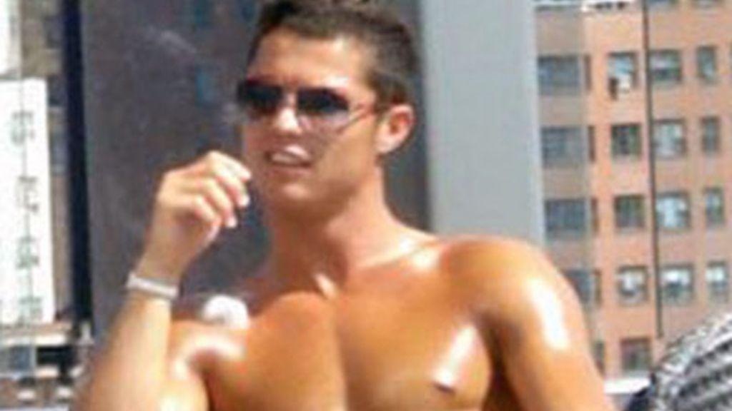 La tableta de chocolate de Cristiano Ronaldo