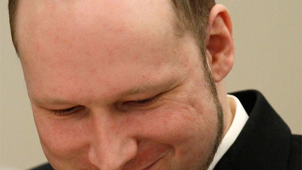 El ultraderechista noruego Anders Breivik durante el juicio