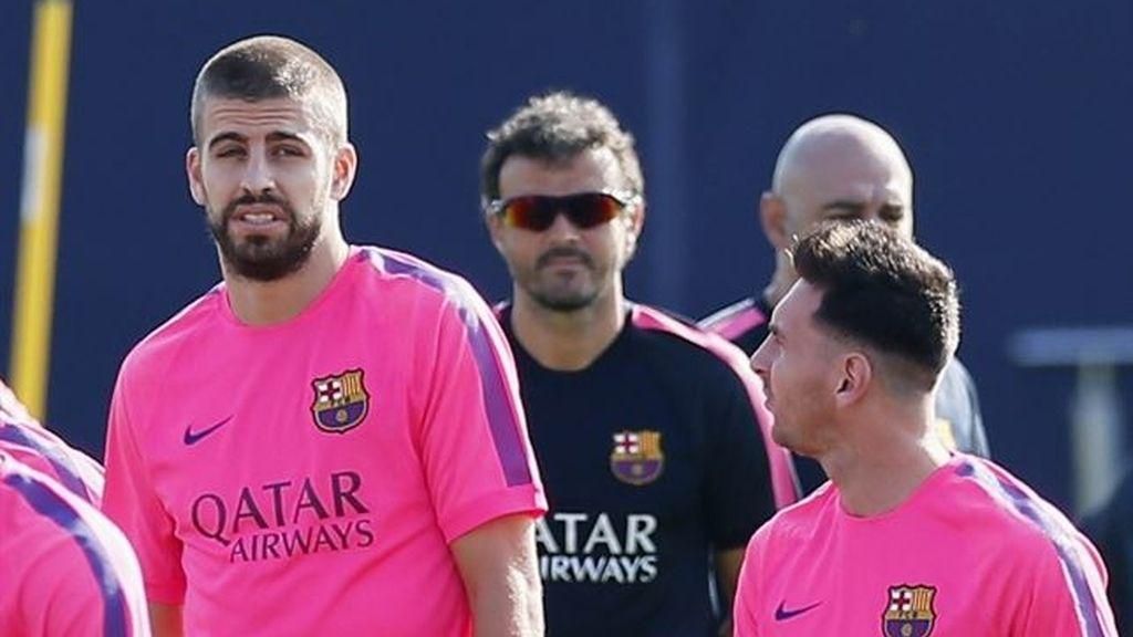 Entrenamiento del FC Barcelona