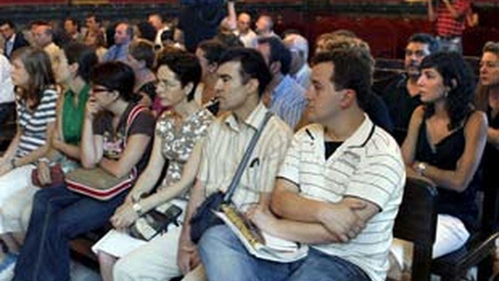 Loa familiares de´algunas de las víctimas del 11-M en la sala del TS. Foto: EFE