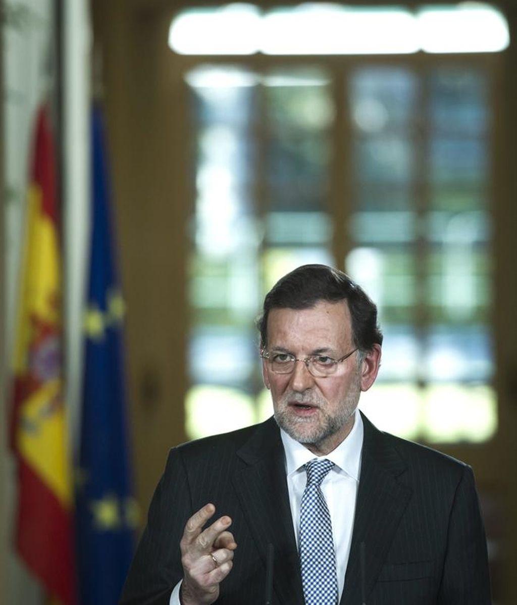 Mariano Rajoy hace resumen de un año de protestas y recortes
