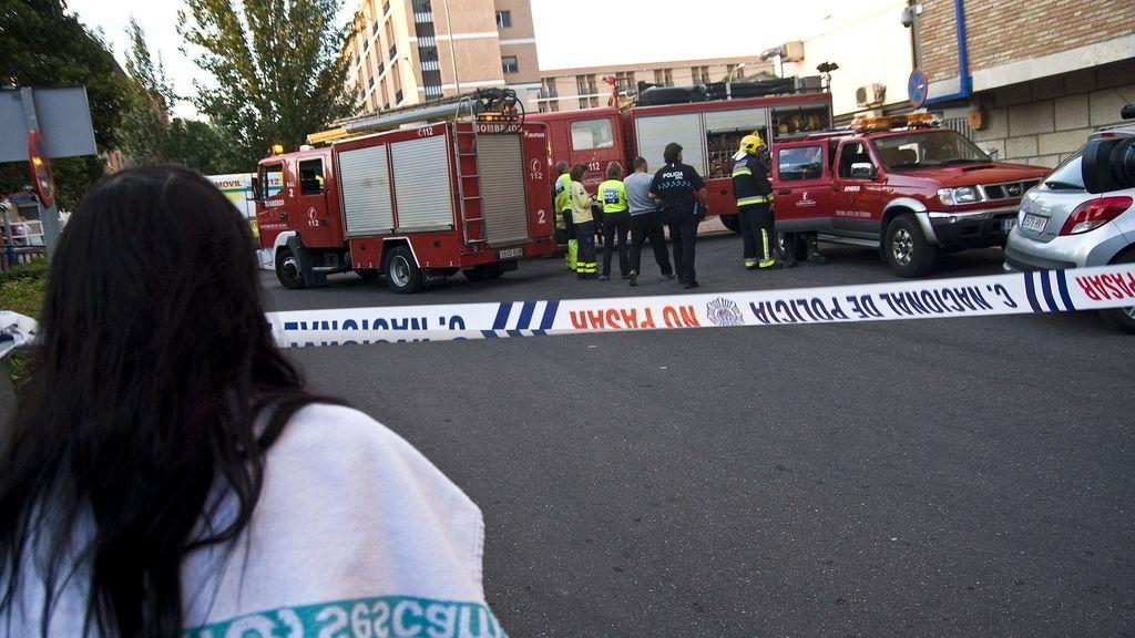 El Hospital de Toledo evacúa a todos los pacientes de la zona del incendio