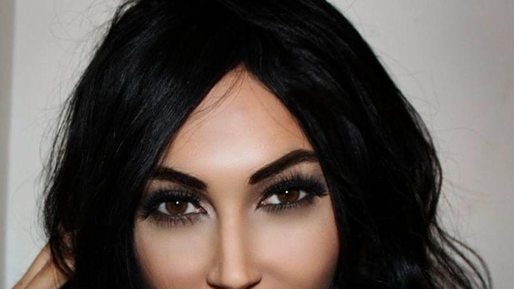 Claire Leeson, la doble de Kim Kardashian