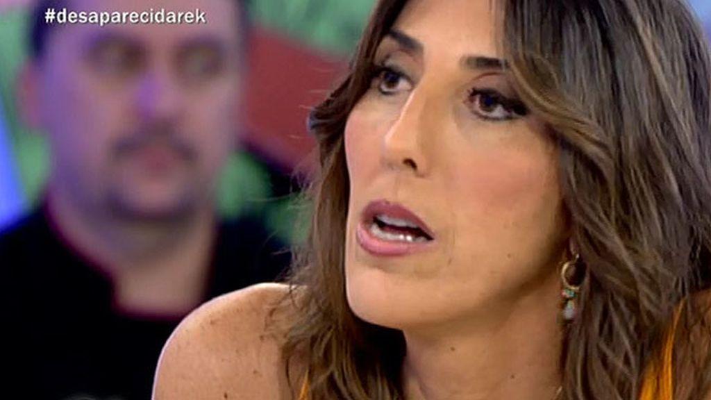 La presentadora, enfadada por unas fotografías se va de plató