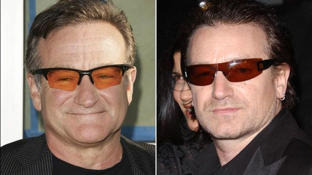 Robin Williams y Bono