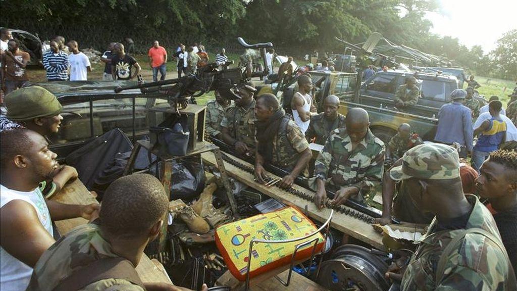 """El subsecretario general de la ONU para las operaciones de paz, Alain LeRoy, dijo: """"El martes nos contactaron para negociar una salida pacífica al conflicto. Fue un engaño para que sus fuerzas reforzaran sus posiciones"""". EFE/Archivo"""