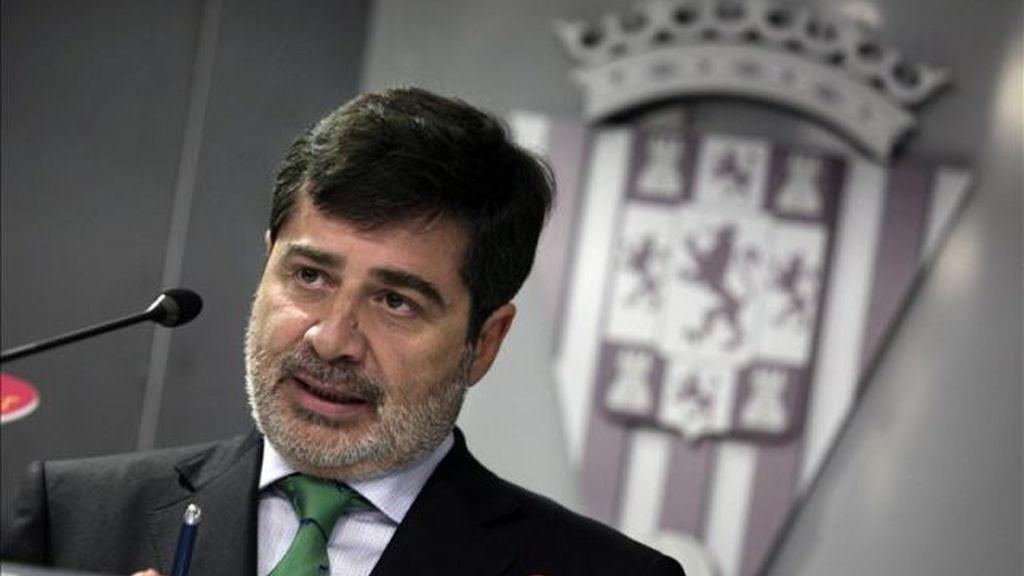 Carlos González González presidente del Córdoba CF