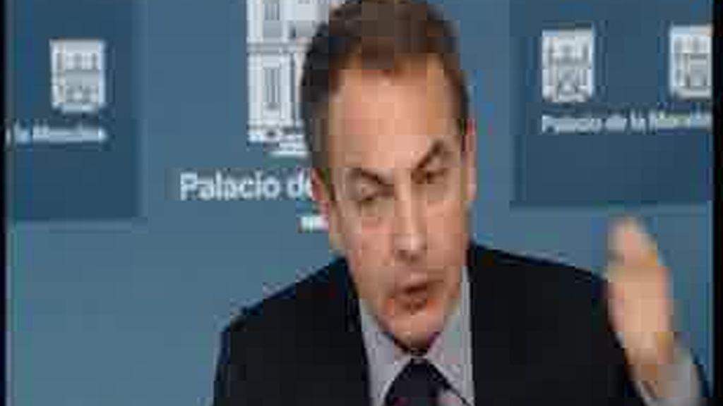 El enfado de Zapatero
