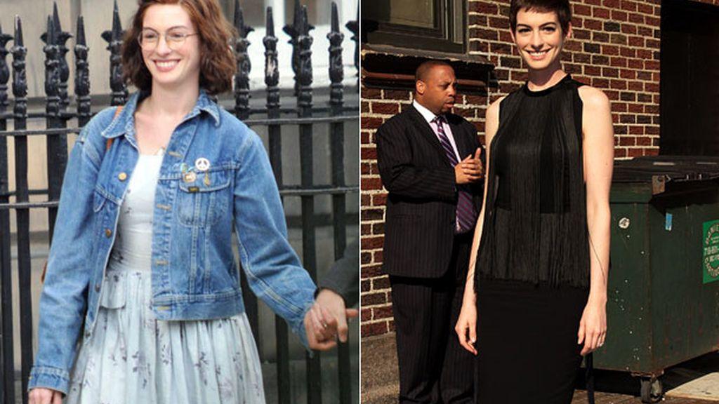 Anne Hathaway, bajar dos tallas