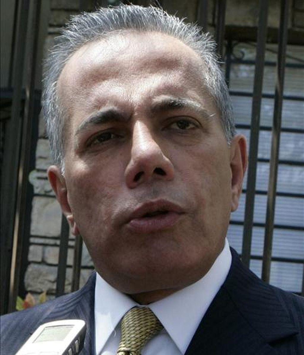 El líder opositor venezolano Manuel Rosales, el pasado miércoles en Lima. EFE/Archivo