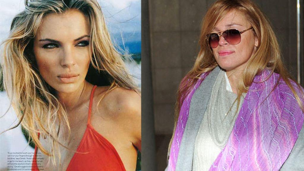 Esther Cañadas, la top model que el tiempo se llevó