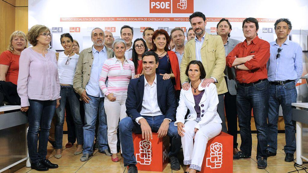 Nace la plataforma de apoyo a Pedro Sánchez en el PSOE de Castilla y León