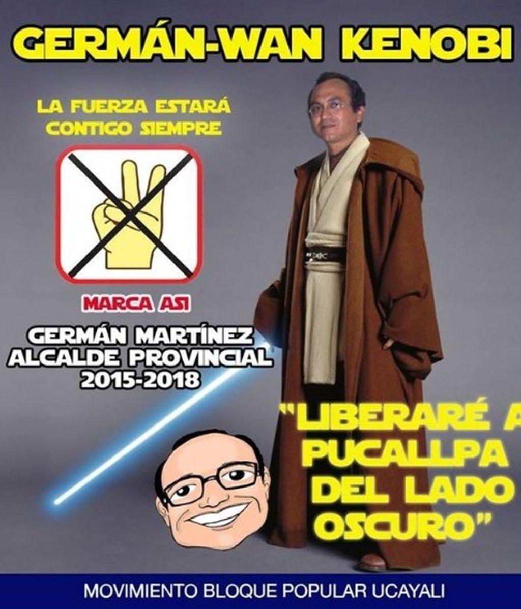 Germán Martínez, el candidato jedi a las elecciones peruanas