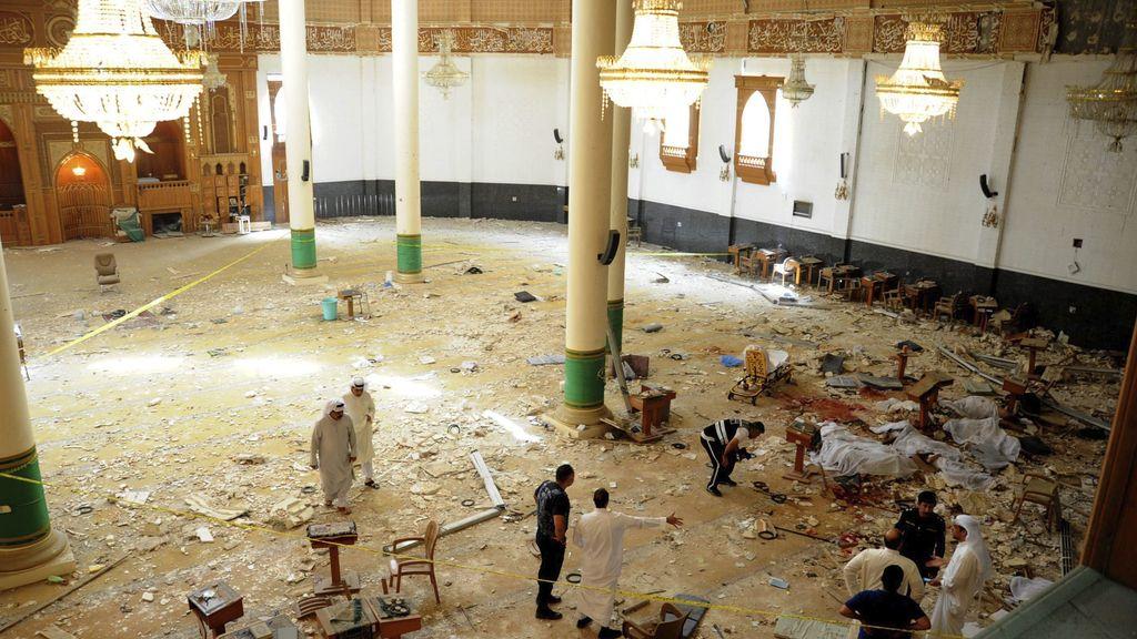 Atentado contra una mezquita en Kuwait