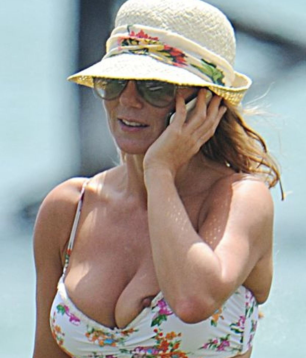 Geri Halliwell, traicionada por el bikini