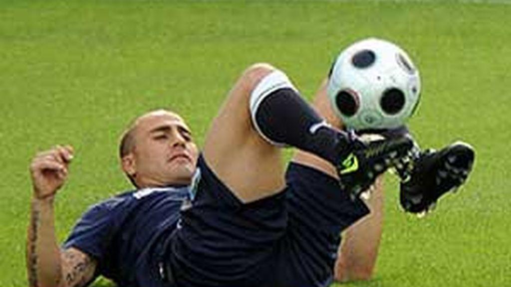 Cannavaro se perderá el primer partido de su selección en la Copa Confederaciones.