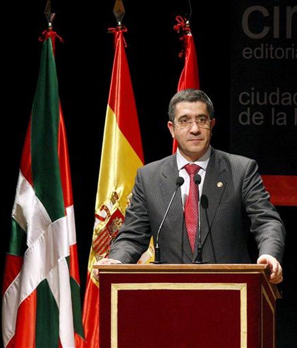 El lehendakari, Patxi López. EFE/Archivo