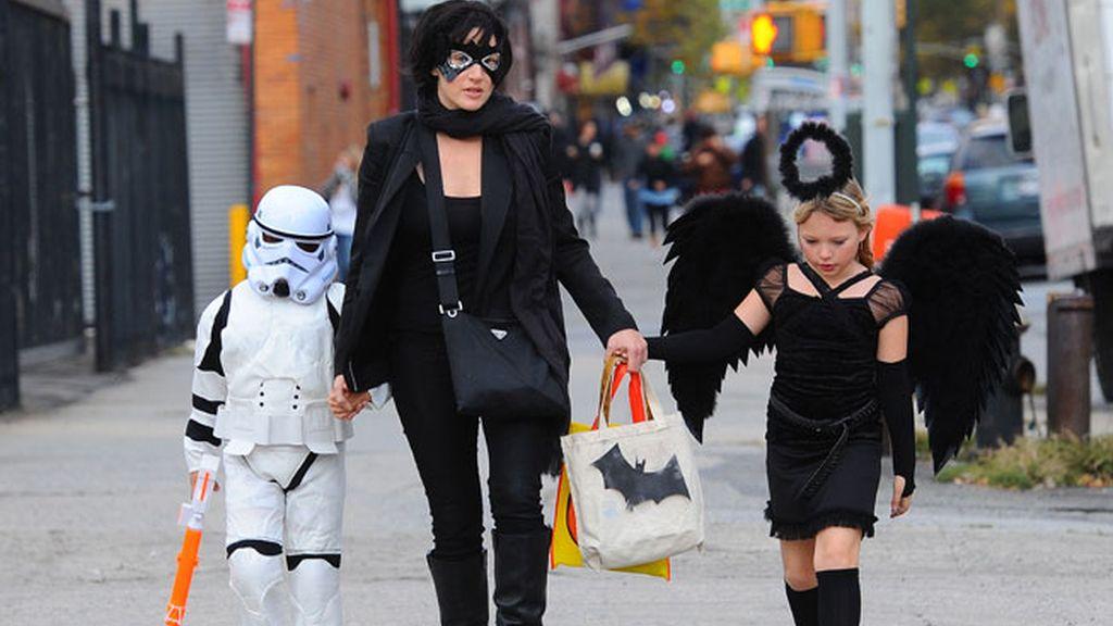 Mia, y Joe, los hijos de Kate Winslet