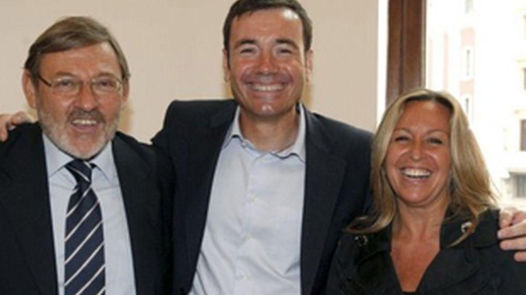 Tomás Gómez y Trinidad Jiménez ya han cumplido con los reglamentos para competir por la candidatura a la Comunidad de Madrid. Foto: EFE