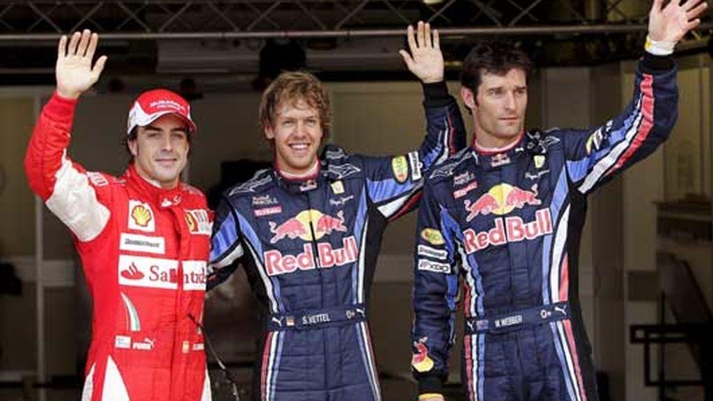 Vettel dominió gran parte de la clasificación y saldrá desde la 'pole'