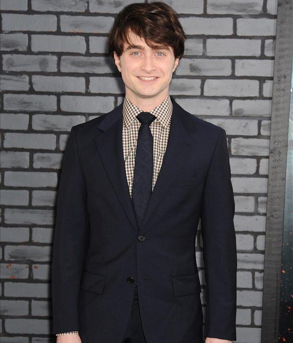 El actor británico Daniel Radcliffe, protagonista de Harry Potter. EFE/Archivo